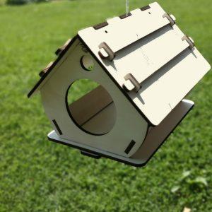 Ptičja hišica sestavljanka za otroke